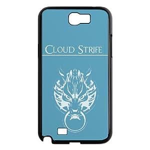 samsung n2 7100 Phone case Black Claud Strife Final Fantasy KKJ6745939