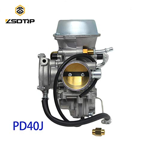 | Carburetor | PD40J 40mm Vacuum Carburetor case for Polaris 500 Universal Other 400cc to 600cc Racing Motor UTV ATV | by HUDITOOLS | 1 PCs (600cc Motor)