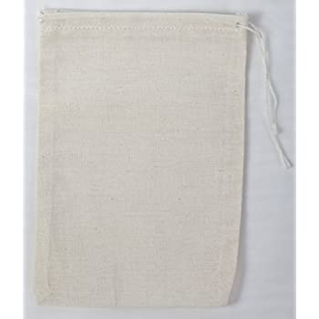Cotton Muslin Bags 4x6 Inches 25 Count Pack