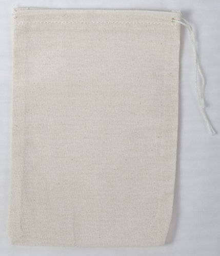 Cotton Muslin Bags 4x6 Inch (10x15cm) 50 Count Pack