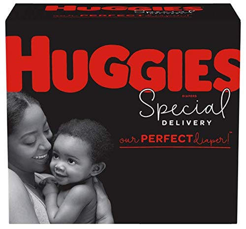 Huggies Special Delivery Hypoallergenic Diapers, Size 1 (8-14 lb.), 72 Ct, Giga Jr. Pack