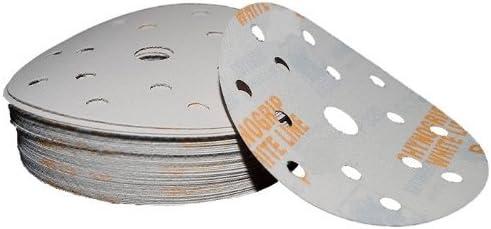 Indasa White Line 10x 150 mm 15h p320 Sanding Pad Velcro Sanding Disc