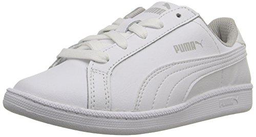 Zapatillas Smash FUN L para ni?os, Blanco / Blanco, 10.5 M US Little Kid