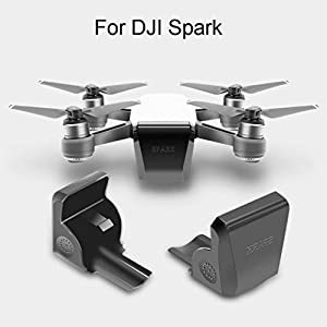 Diadia Camera Gimbal Lens Cap Protector Camera Front 3D Sensor Screen Cover Protective Cover Case for Drone DJI Spark Gimbal PTZ,Quick Mount,Dust-proof, Scratch-proof, Bump-proof 41NuICfiqsL