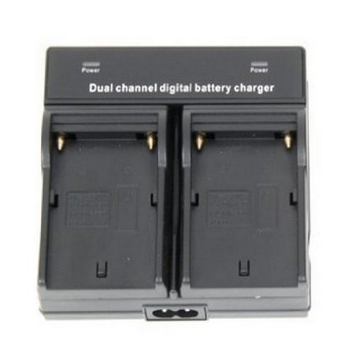 Dual Channel Digital Battery Charger for Sony NP-F330, NP-F530, NP-F550, NP-F570, NP-F730, NP-F730H, NP-F750, NP-F770, NP-F930, NP-F950, NP-F960, NP-F970, 2NP-F970/B, NP-F970/B InfoLithium L Series Battery