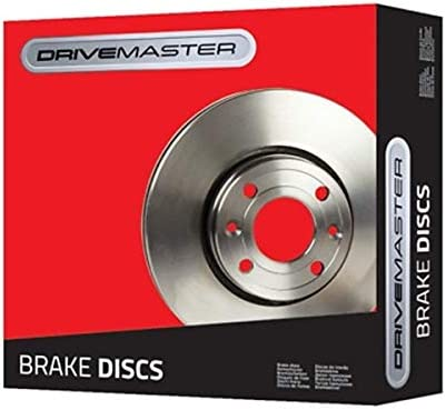 Drivemaster DMD178 Front Brake Discs x2 258mm Diameter Vented 22mm Thickness
