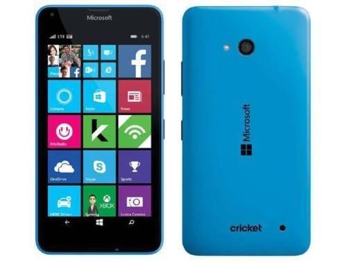 Microsoft Lumia 640 4G/LTE 8GB Single SIM Smartphone – Factory Unlocked – International Version with No Warranty (Cyan)