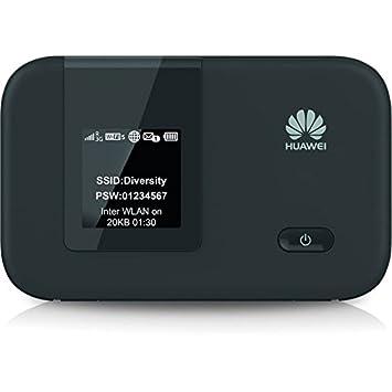 Huawei E5372 - WiFi Hotspot LTE /4G negro - Mobiler Hotspot con WiFi 802.11 a
