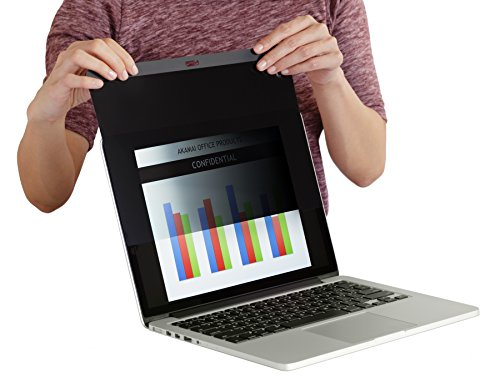 Akamai MacBook Compatible Privacy Screen Filters (Anti-Glare) (MacBook Pro 15 inch (2012-2016), Easy On/Off Magnetic)