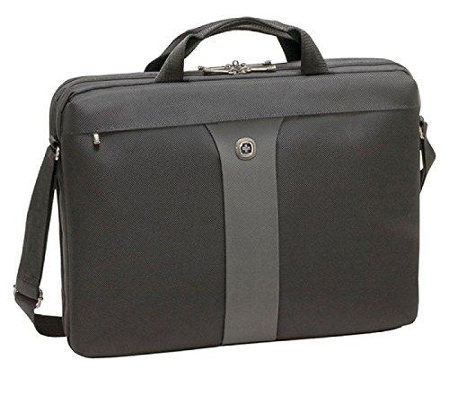 Wenger WA-7444-14 LEGACY 17' MacBook Pro Slimcase, Black/Grey, 12 Litres