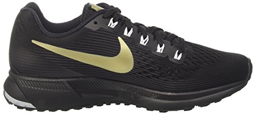 WMNS Pegasus Shoes Black Running Zoom Anthracite White Air Black NIKE Metallic 34 Women's Gold Star 85xq0wIT
