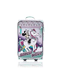 Minnie Mouse Junior Luggage 18 Inch Luggage for Kids - [Minnie - Unicorn Dreams]