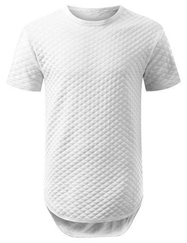 URBANCREWS Hipster Graphic Quilted Longline product image