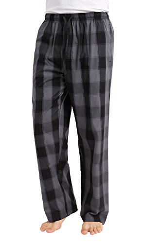 CYZ Men's 100% Cotton Poplin Pajama Lounge Sleep Pant-F1721-L