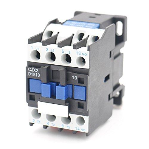 Baomain AC Contactor CJX2-1810 24V 50Hz Coil Normally Open 3 Pole 32A