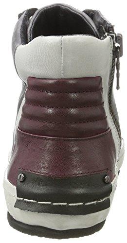 Grigio Collo Crime Alto Sneaker Grau 11211a17b Uomo a London rUqCU6xw0