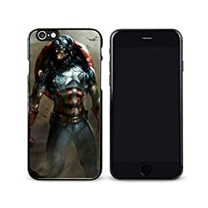 SuperHero Captain America image Custom iPhone 6 Plus 5.5 Inch Individualized Hard Case