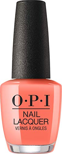 OPI Nail Lacquer, Orange You A Rock Star?, 0.5 Fl. Oz.