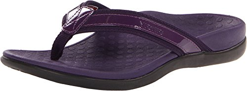 Vionic by Orthaheel Womens Tide II Sandal Purple Size 11