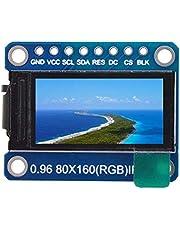 SODIAL IPS 0.96 Pollici 8 Pin SPI HD 65K Full ColoreTft Module St7735 Guida IC 80 X 160 Display LCD 3.3 V SPI Interface per DIY