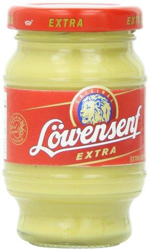 Lowensenf Extra Hot Mustard Jar 3.7 Ounce