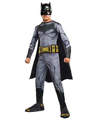 Best Children's Book Characters Costumes (Rubie's Costume Batman vs Superman: Dawn of Justice Batman Value Costume, Medium)
