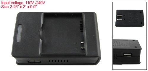 Adaptador de pared USB US Plug 110V-240VAC Cargador de batería para HTC S900
