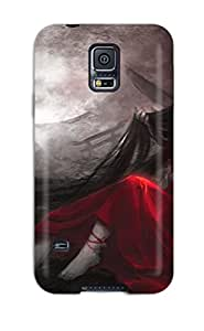 5813754K37800522 Cute High Quality Galaxy S5 Houraisan Kaguya Anime Case