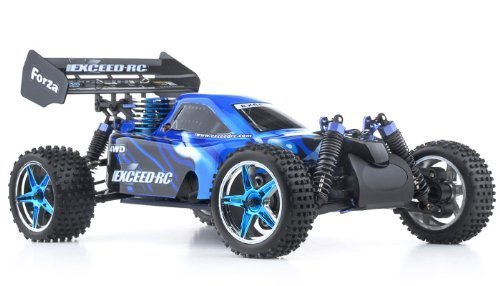 1/10 2.4Ghz Exceed RC Forza .18 Engine RTR Nitro Powered Off Road Buggy Storm Blue (Off Road Buggy Powered)