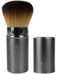EcoTools Retractable Kabuki Travel Foundation Brush for Blush Bronzer & Powder
