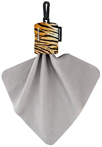 - Spudz Classic Microfiber Cloth, Screen Cleaner and Lens Cleaner - Tigers Fur, Regular 6x6