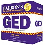 Barron's GED Test Flash Cards, 2nd Edition: 450 Flash Cards to Help You Achieve a Higher Score