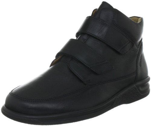 Ganter Men's SENSITIV Kurt, Weite K Boots Black - Schwarz (Schwarz 0100)