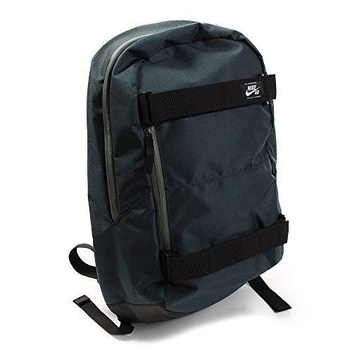 Tailored Backpack - NIKE Men's SB Courthouse Backpack- Deep Jungle/Black/White