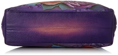 Bag Lush Anuschka Front With Medium Pocket Shoulder Lilac nFXOpYF