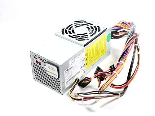 Genuine DELL 250w SFF Power Supply For the Dell Inspiron 530s, Inspiron 531s, Vostro 200(Slim), 200s, 220s, and Studio 540s SFF systems Identical Dell Part Numbers: XW605, XW604, XW784, XW783, YX301, YX299, YX303, 6423C, K423C N038C, H856C, YX302 Compatible Model Numbers: DPS-250AB-28 B, 04G185021200DE, PS-5251-5, TFX0250D5W ()