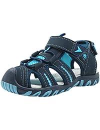 Kid's Boy's Girl's Soft Sole Close Toe Sport Beach Sandals (Toddler/Little Kid)