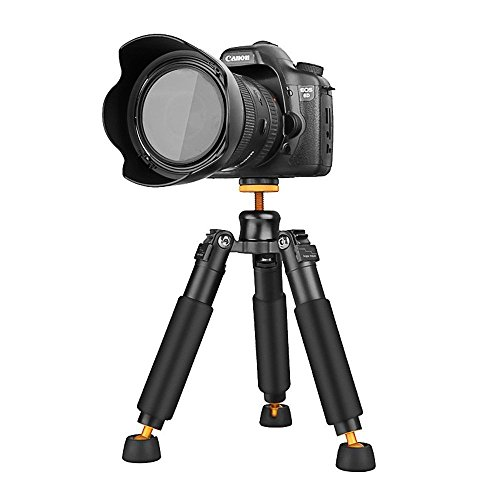 Tripod 3KG Universal 3 Legs Monopod Base Stand Support for DSLR SLR Cameras Video Micro Shooting (Table Pad Head Section)
