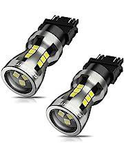 SEALIGHT 3157 LED Bulb White, 6000K Super Bright, Brake Lights Backup Reverse Lights Reverse Tail Lights Turn Signal LED, 3156 3056 3156 3057 4157, Pack of 2