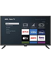 "onn Pantalla de 32"" LED Smart TV HD ROKU 720P Compatible con Google Assistant desde Apps Mod. 100012589 (Reacondicionado)"
