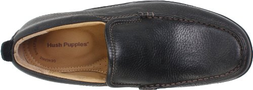 Hush Puppies Mens GT Slip-On Loafer Black Leather