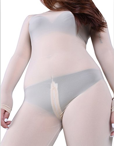 LinvMe-Womens-Sexy-See-Through-Second-Skin-Bodysuit-Zentai