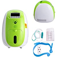 Tinsay 1L Portable Oxygen Concentrator Generator Air Purifier Oxygen Purifier Concentrator