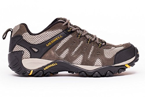 Merrell Mens Accentor Hiking Boot Boulder / Old Gold