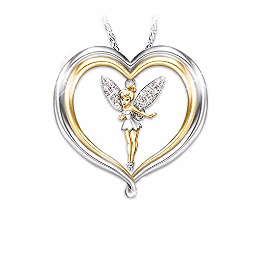 Ginger Lyne Collection Fairy Heart Pendant 20