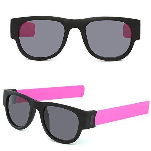 Sports Sunglasses Classic Polarized Sunglasses protection for Cycling BaseballCreative Wristband Glasses Polarized Sunglasses Driving Goggles Snap Bracelet HT