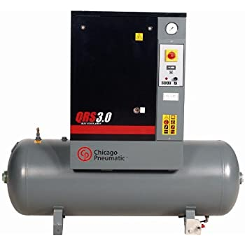 Chicago Pneumatic QRS3.0HP-1 60 Gallon 3 HP 150 PSI Rotary Screw Air Compressor