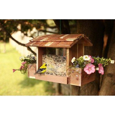 Cedar Bird Feeder / Planter