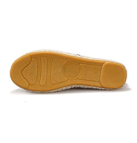 Damesschoenen In Nieuwe Stijl Zomer Instappers Canvas Schoenen Platte Instappers Pantoffels Paars