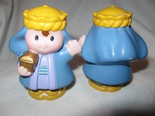 (Fisher Price Little People Three Kings Wisemen Nativity Play Set BLUE WISEMAN OOP)